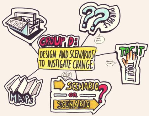 Design and Scenarios to instigate change