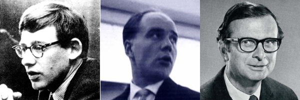Circa 1968-1970: Christopher Alexander, Horst Rittel, West Churchman