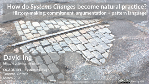 How do Systems Changes become natural practice?