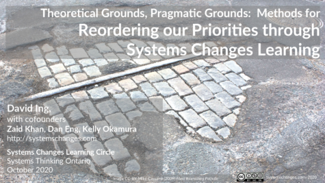 Theoretical Grounds, Pragmatic Grounds: Methods for Reordering our Priorities through Systems Changes Learning