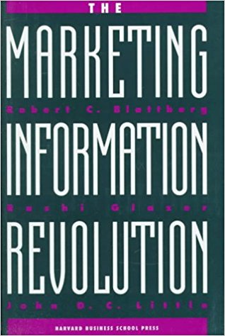The Marketing Information Revolution book cover
